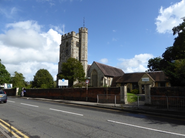 Stoke Church from SW
