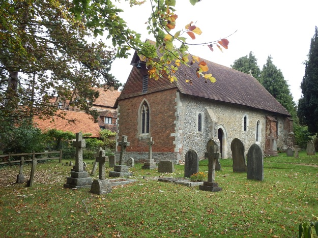 Wanborough Church from south west