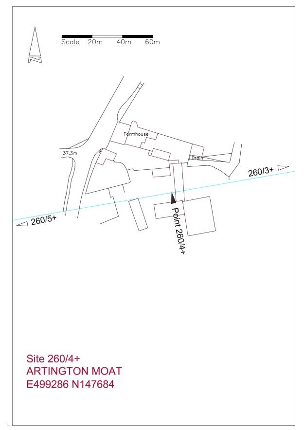 Site plan Artington Church