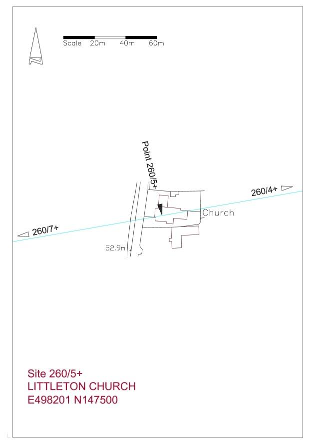 Site plan Littleton Church