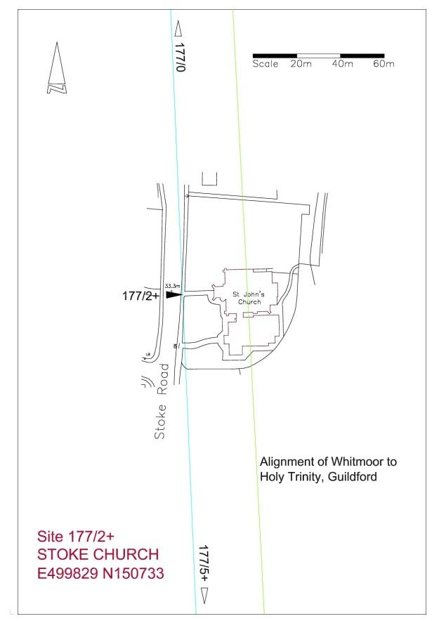 Site plan Stoke Church