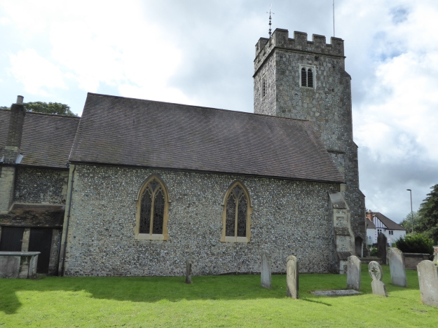 Stoke Church from the North